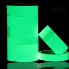 JF40016 PET Luminescent Film DIY Glowing Lumious tapes Waring stripes Night lighting emergency lines wall sticker vinyl sticker(China (Mainland))