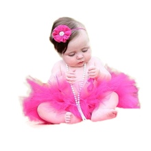 16 Color Newborn Infant Baby Tutu Skirt with headband Kids Baby Tutu set for Photo Prop Fluffy Tulle skirt For 12 18 month PT73(China (Mainland))