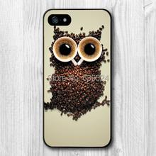 Интересный дизайн ретро сова кофе кожи чехол для iPhone 4 4S 5 5S 5c 6 6 s 6 плюс 6 s плюс