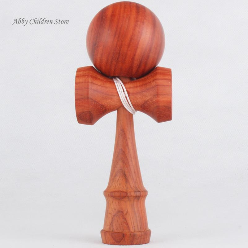 100 pcs/lot Cherry Kendama Professional Rosewood Kendama Toy Ball Game Toy Gift For Child Adult Christmas Toy Gift Carve Logo<br><br>Aliexpress