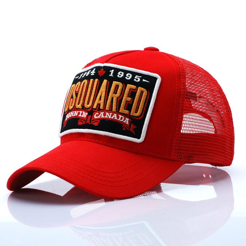 2015 fashion suncap D2 summer dsq baseball cap net cap cotton hat unisex golf caps agents embroidery LOGO(China (Mainland))