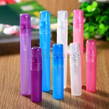 5Pcs 5ml 10ml Perfume Sprayer Bottle Parfum Women Perfume Atomizer Packaging Spray Perfect Empty Cosmetic Containers