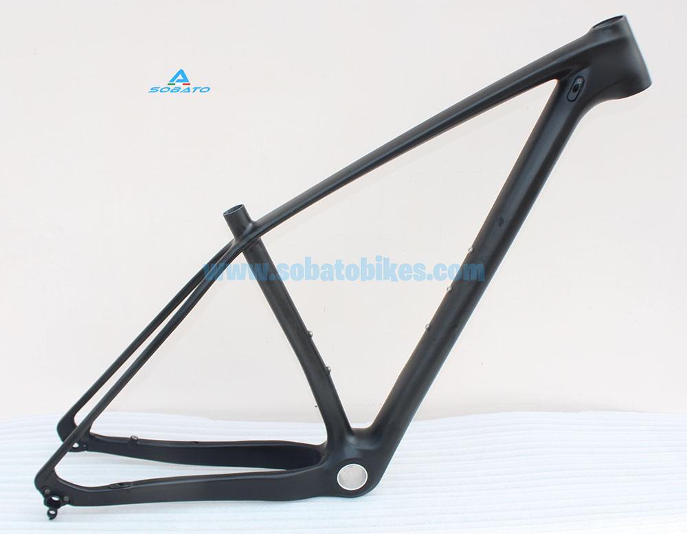 29 MTB Frame 29ER Thru Axle 142x12mm Carbon MTB Frame BSA/BB30/PF30/BB92 Bottom Bracket Size 15.5/17/18.5/20inch(China (Mainland))