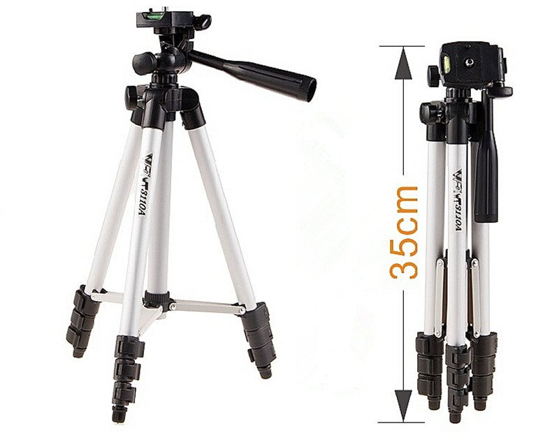 Weifeng WT 3110A compact With 3 Way Head Tripod bag for camera