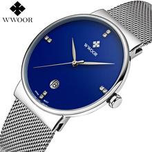 Buy Men Watches Top Brand Luxury Ultra Thin Date Clock Male Steel Strap Waterproof Blue Quartz Watch Men's Casual Sports Wrist Watch for $19.99 in AliExpress store