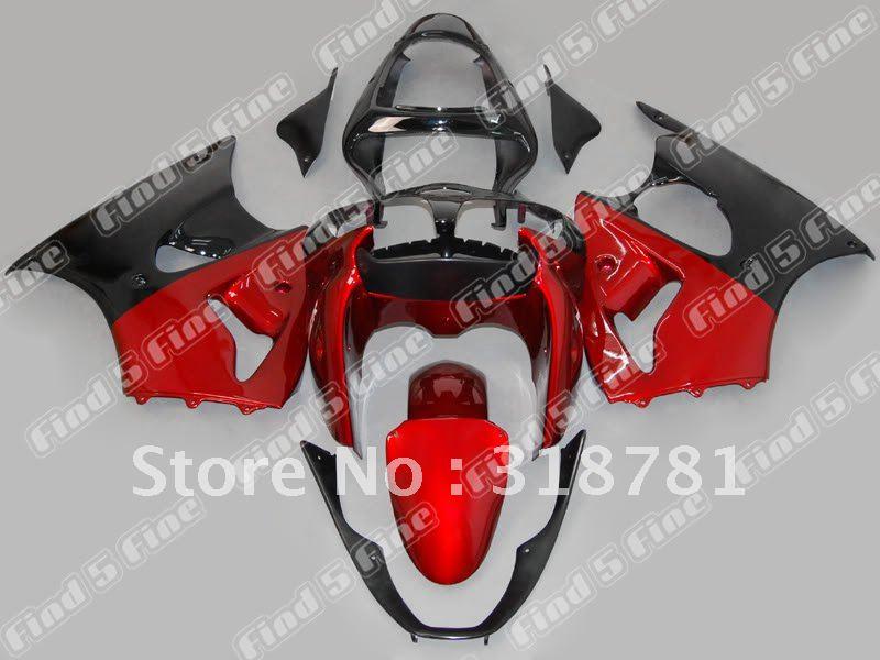 Custom Fairing Kits Custom Red Black Fairing Kit