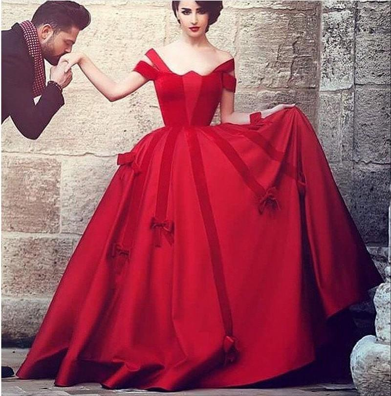 ball gown prom dress red « Bella Forte Glass Studio