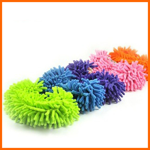 Wipe slippers lazy shoe rubbing washable slippers home floor mop head shoes cover(China (Mainland))