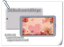 """VIP customer specail design 9"""" inch dual core MTK6572 3G phone call android tablet pc build in 3G GPS bluetooth wifi(China (Mainland))"""