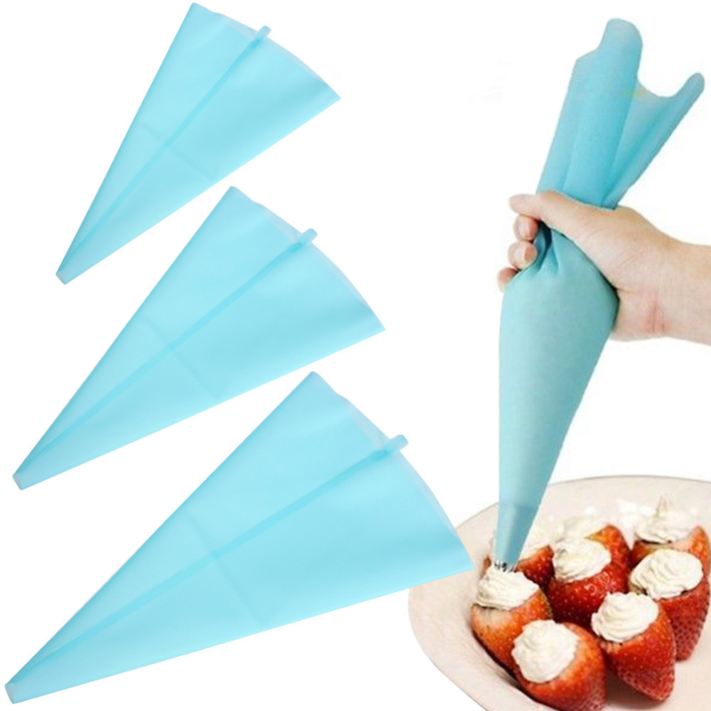 V1NF 30cm Length Silicone Icing Piping Cream Pastry Bag Cake Decorating Tool Free Shipping