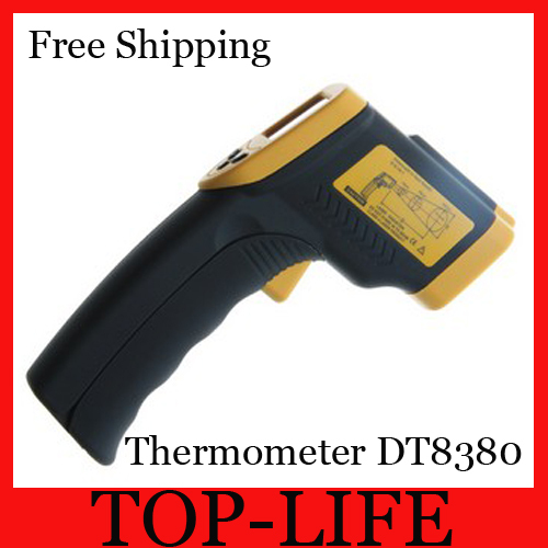 Non-Contact IR Laser Infrared Digital Thermometer LCD DT8380 - Top-life Store store