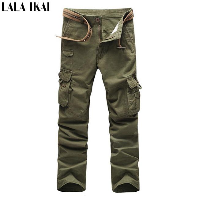 IKAI Outdoor Men'S Pants Big/Small Size Tactical Trousers Breathable Hiking Pants Sports Brand Pantalon Trekking HMH0034-5