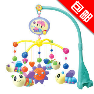 Bed bell baby toy bedside bell bee music bed bell rotating rattles, bed hanging(China (Mainland))