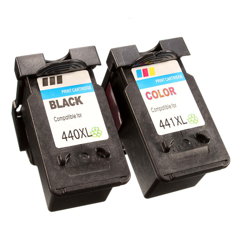 1 Set Ink Cartridge 440XL Color 441XL Black for Canon PG 440 XL CL 441 XL PIXMA MG3540/MG3140/MG2140/MG4140/MG4240/MG2240/MG3240<br><br>Aliexpress