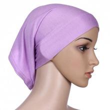 Frauen Islamischen Hijab Kappe Rohr Motorhaube Haar Wickeln Bunten Kopfband(China (Mainland))