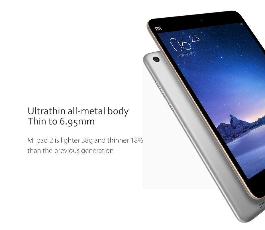 NEW Original Xiaomi MiPad 2 Android 5.1 Tablet PC 2GB 16GB/64GB 7.9 Inch Intel Cherry Trail Z8500 Quad Core 8.0MP tablet android