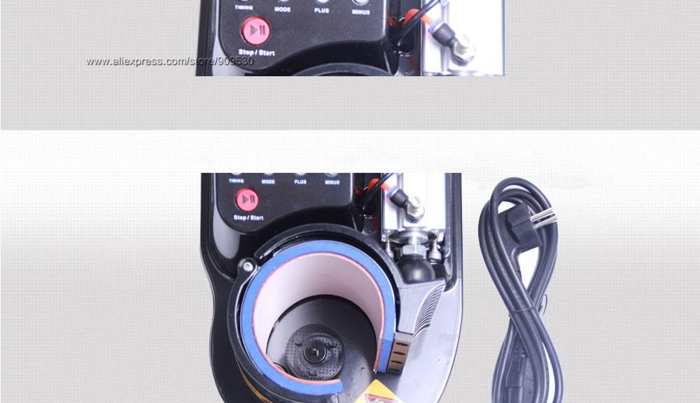 Купить Бесплатная доставка по DHL 2016 Мини Пневматический Вертикальный многофункциональный Теплопередачи Пресс Тепловой Печать Чашку Машина ST110