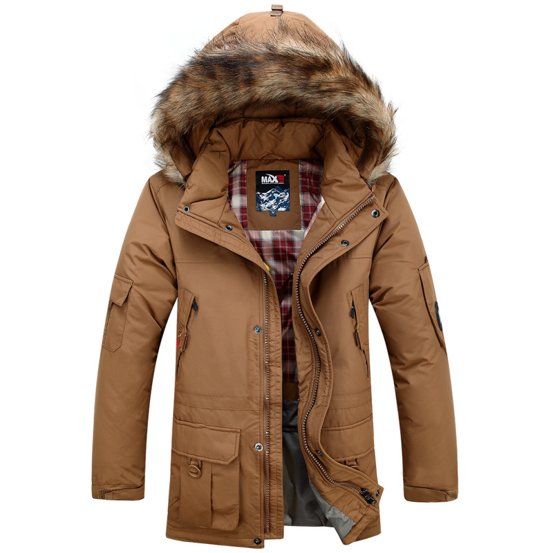 2015MAX live in the living face down jacket outdoor men's warm thick high -quality large size fashion jacket(China (Mainland))