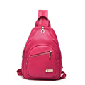 Multi purpose Small Bag Women Solid Color Fashion Casual Chest Bag Shoulder Bag Practical Designer Backpack