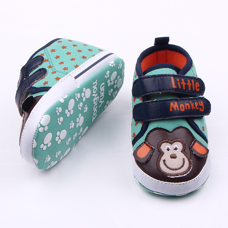 New Monkey Baby Shoes Newborn Baby Girls Shoes Boys Kids Sports Sneakers Infant Sapatos Newborn Prewalker Shoes Baby Boots(China (Mainland))