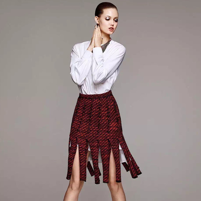 2015 autumn and winter womens show the hottest models mop skirt  1526263126Одежда и ак�е��уары<br><br><br>Aliexpress