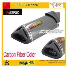 50cc 100cc 125cc 150cc 200cc 250cc motorcycle JOG RSZ CBR YZF YBR TTR exhaust pipe gy6 motorbike muffler silencer accessories
