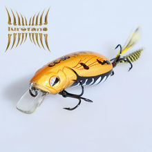 Excellent quality brand floating fishing lure,crankbait, artificial crank bait for fishing bass guitar