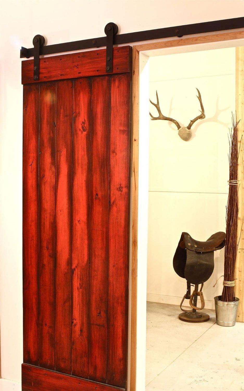 6.6 FT cast iron barn door hardware track(China (Mainland))