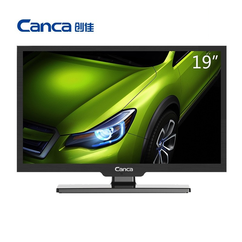 Free Shipping Canca 19HME5000 CP64 HD LED Flat-Panel TV Energy-Saving Eyecare Elegant Appearance Narrow Support TV Box 19inches(China (Mainland))
