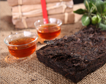 The real 1990 year More than 25 years old pu er tea health care Puer tea