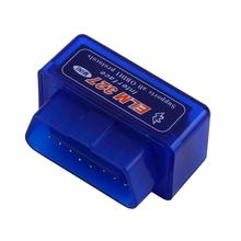 1pcs Car Auto Interface Scanner  Mini OBD2 II Bluetooth Diagnostic  Tool Compatible Phones Hot Worldwide(China (Mainland))