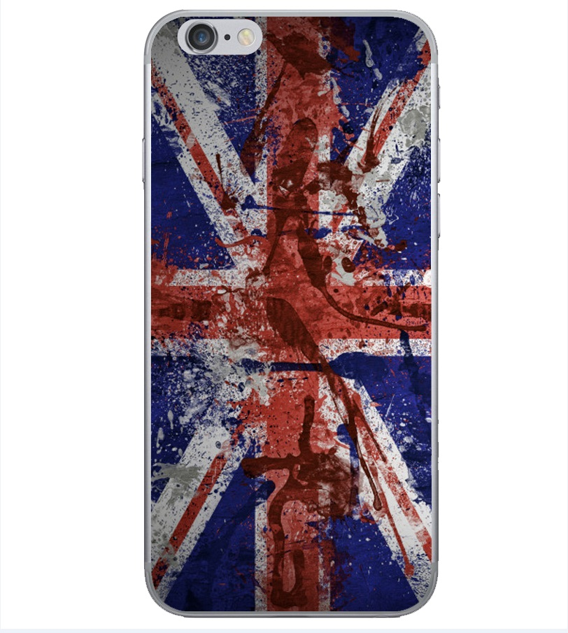 2016 Ultra Thin Soft TPU Gel Back Cover iPhone 5 6s 6plus Fundas British Style UK Flag Big Ben Pattern Phone Cases - TNTC Co., Ltd store