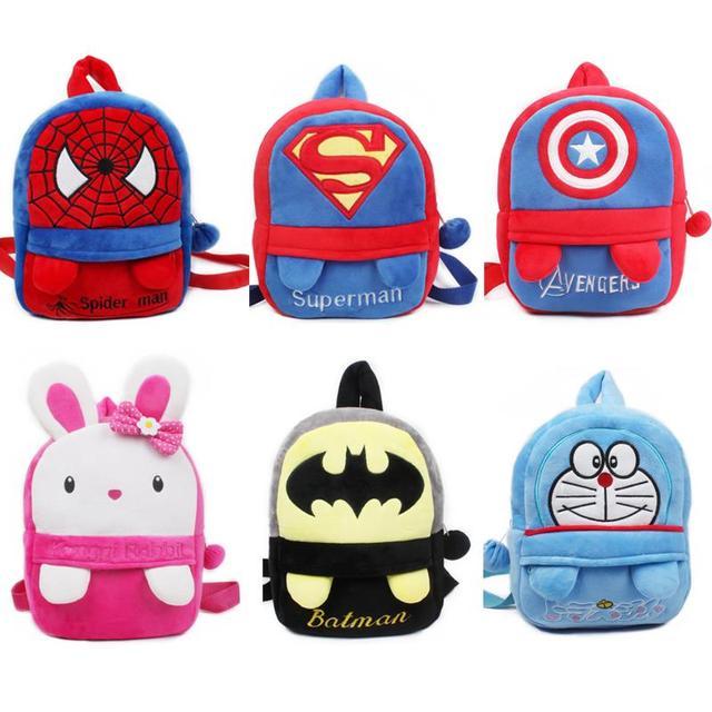 Малый размер плюшевые рюкзак withfoot детская школа плюшевые конфеты сумки милые ...