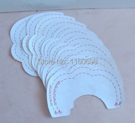 Women 10pcs/Pack The Instant Breast Lift Beauty Breast Stickers Invisible Bra X1009(China (Mainland))