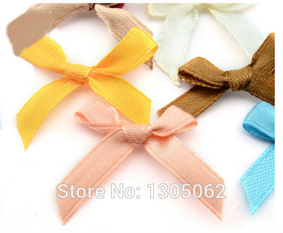 wholesale christmas ribbon flowers garment accessories bows gift satin bow underwear decorative small butterfly knot