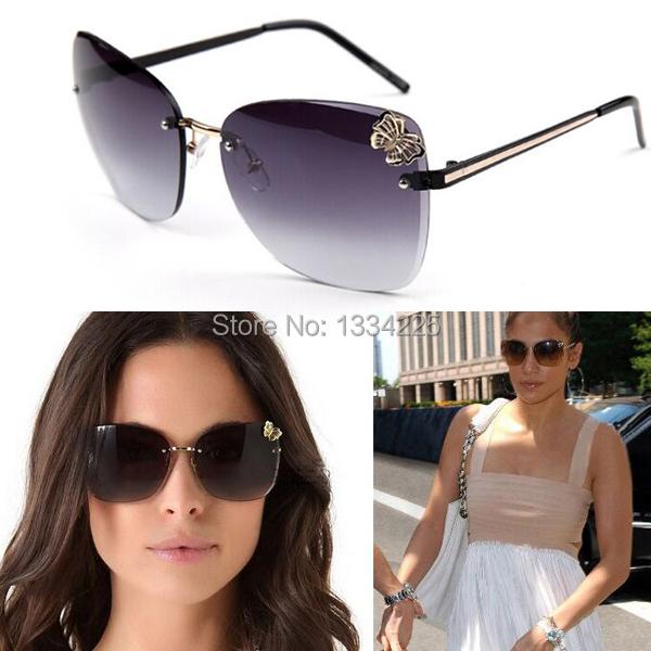 Rimless Women Sunglasses 4217 Gradient lens DHL Free with Retail Packing Box Oculos De Sol Feminino Female Sun GlassesОдежда и ак�е��уары<br><br><br>Aliexpress