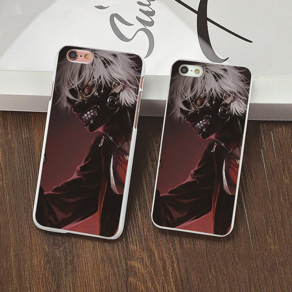 Luxury protective Back plastic case cartoon anime Tokyo Ghoul Black cover For Apple iphone 6s 6 plus 5 5c 5s 4 4s