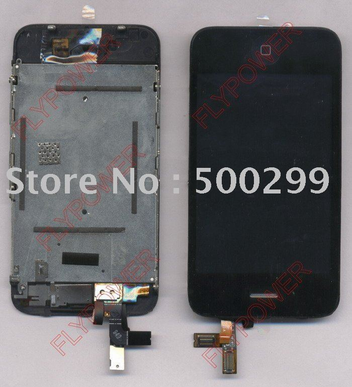 LCD for iphone 3GS with touch assembly by free shipping(China (Mainland))