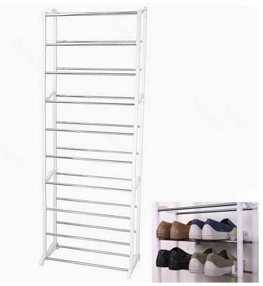 New Design Home 10 Shoe Hanger Boot Organizer Storage Rack Stand Shelf Drop Shipping(China (Mainland))