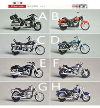 1:43 Mini motocicleta 8 unids modelo auténtico modelo de la máquina de la locomotora museo venta de la fábrica
