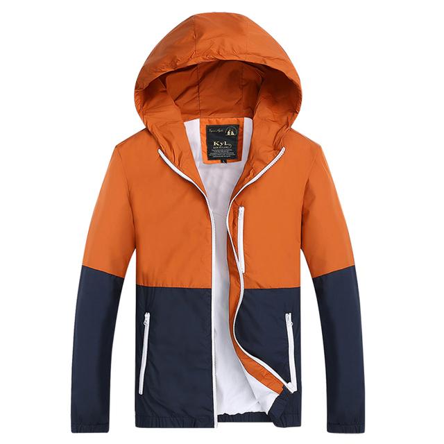 2015 Новый стиль мода спортивные куртки пальто мужчины с капюшоном куртка мужская ...