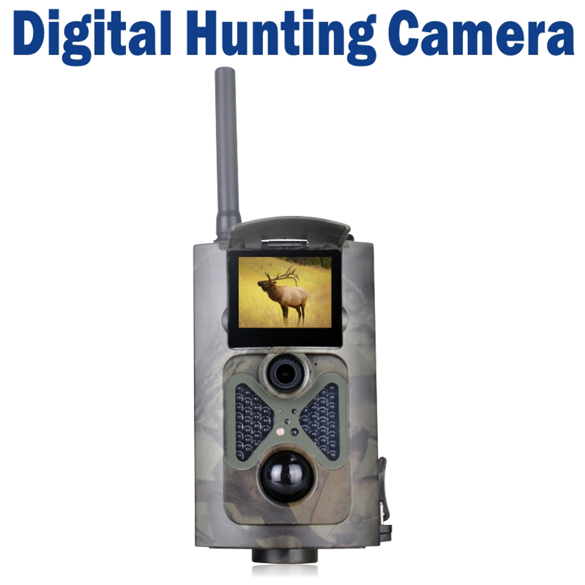 1080P Hunting Trail Scouting Camera Video DVR MMS Alarm Recorder Support SD Card Max. 32G(China (Mainland))