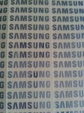 6pcs/lot free shipping silver stickers For samsung logo mark of metal stickers 3cm(height) for samsung galaxy s3 s4 s5(China (Mainland))