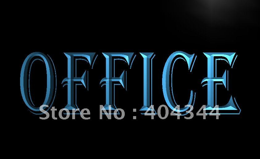 LB078- OPEN OFFICE Business Displays LED Neon Light Sign home decor shop crafts(China (Mainland))