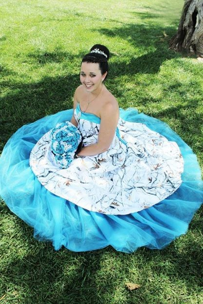 Popular pink camo dresses buy cheap pink camo dresses lots for Pink and blue wedding dresses