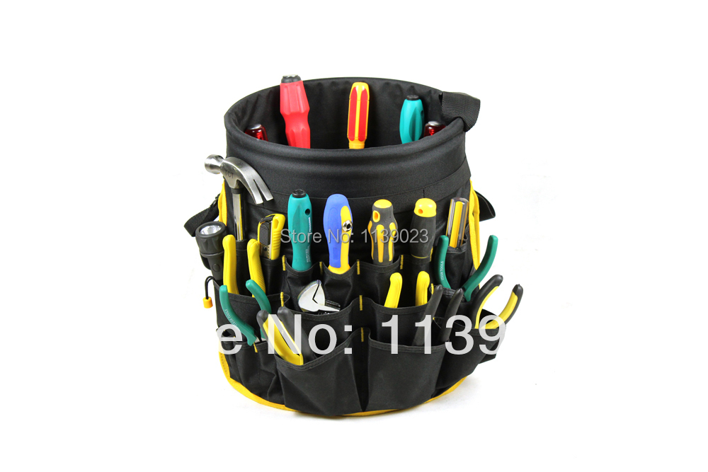 Hot Sale Tool Bag Multifunction Oxford Polyester Fabric 600D Painter Bucket Bag,Best Quality Electrician Tool Bag Free Shipping(China (Mainland))