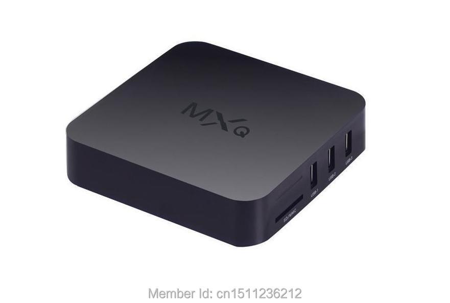 Beelink Amlogic xbmc box android satellite receiver mxq amlogic s805 quad-core 1gb android 4k tvbox mx kodi OTT MXQ 10 piece MX(China (Mainland))