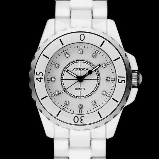 New original brand watches women Fashion Ceramic band ladies analog quartz Watch Rhinestone Dress Wrist watches montre femme(China (Mainland))