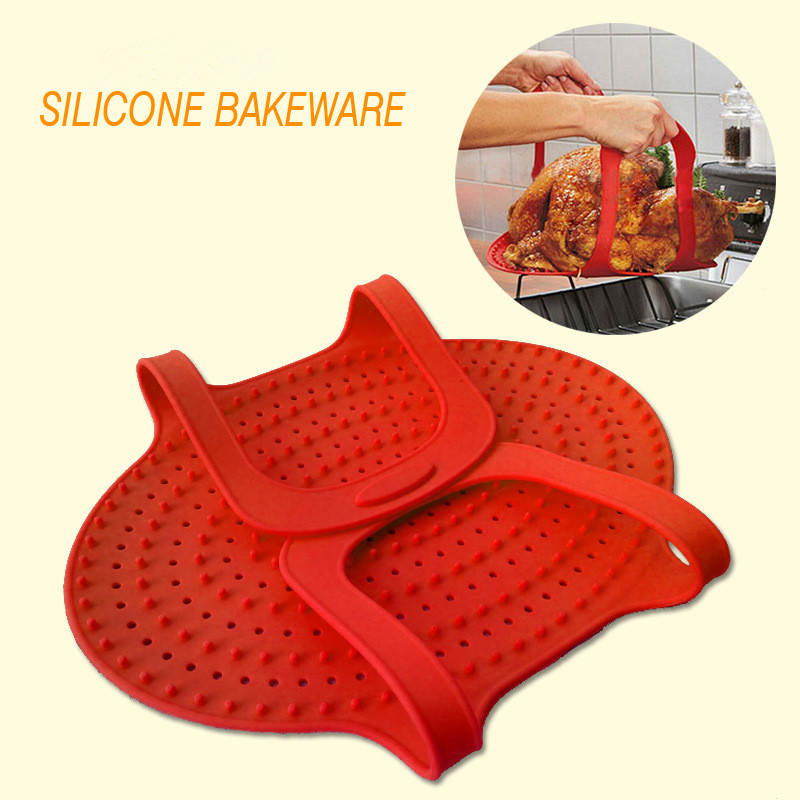 1PCS Non-Stick Bakeware Pan Silicone Baking Mats Roasted Oven Microwave Barbecue Heat Insulation Pad(China (Mainland))