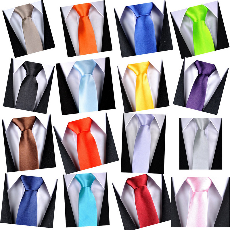 2015 Brand Fashion Designer 20 Style Silk Ties for Men Solid Celebrity Pajaritas Gravata Slim Mens